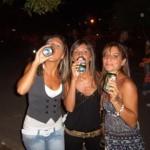 Le tre ubriacone del raduno